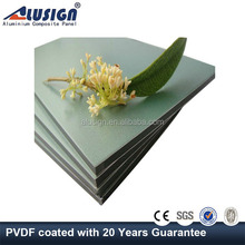Alusign PPG painting density of construction material wall cladding aluminum composite panel