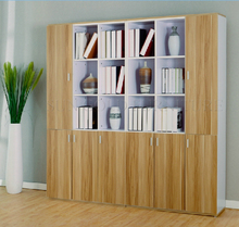 Wooden office cabinet wood filing cabinet book rack price (SZ-FCB338)