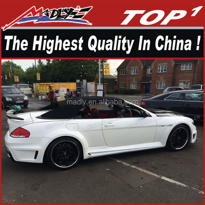 High quality Fiber Glass Body kit for BMW 6 series 2004-2009 E64 LA design e64 LM kit for BMW 6 series