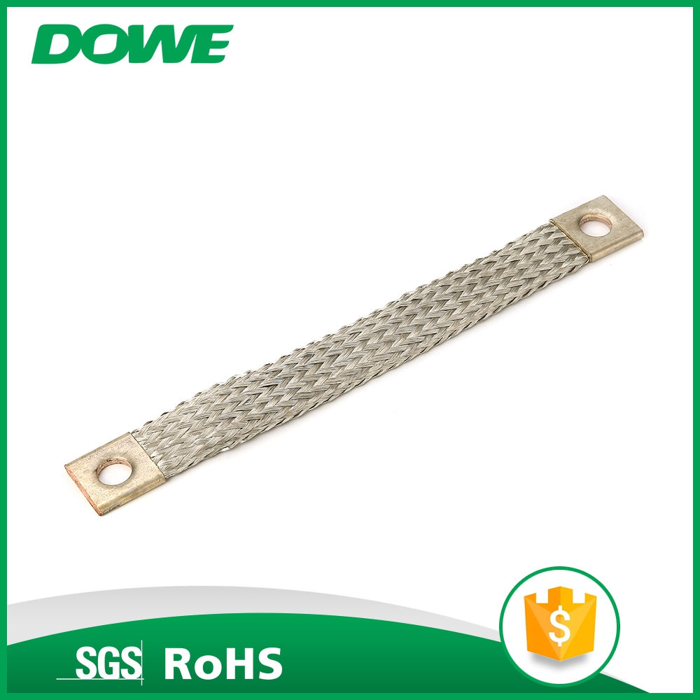 Passed Test safe flexible electric copper busbar soft connection