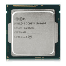 Original Processor for Intel core i5 4460 Quad Core 3.2GHz LGA 1150 6MB Cache TDP 84W With HD Graphics 4600 Desktop CPU