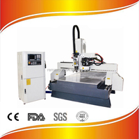 Remax-1325 Oil mist lubrication Vacuum ATC cnc router SYNTEC control system HSD air cooling spindle factory directly