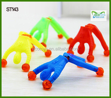 New mini TPR animal sticky toys for kid soft animal promotion toys