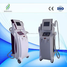 HOTTEST! Elight + IPL + RF + Laser all in one multifunctional beauty machine