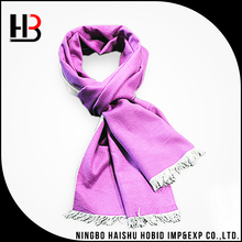 Nice quality men long pink silk brushed scarves