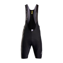 Monton 2015 Men's Black Cycling Bib Shorts Padded Wholesale
