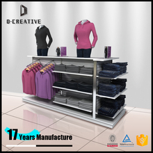 retail garment shop interior design garment detachable floor display stand shelves retail clothing shop interior design ideas