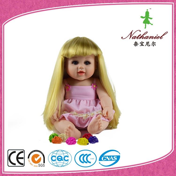 Guangzhou Supplier American Blonde Girl Baby Doll for Sale