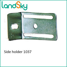 LandSky Industry door side frame bracket for fixed track thickness 2.0mm steel material 1037 floating shelf hidden for timber