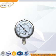 High Performance Sensor pressure gauge with filler of Silicone oil