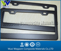 High quality Carbon fiber licence frame plate for USA Canada