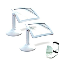 3X TV Hands Free Hot Sale Page Reading Screen Light Lamp LED Magnifier Brighter Viewer