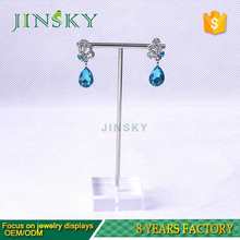 acrylic piercing jewelry earring display stand