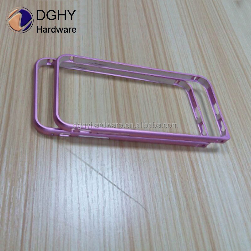 Factory wholesale cnc AL case for cell phone