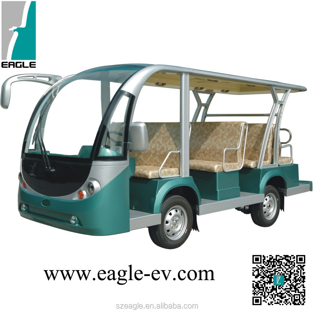 11 seater electric school bus / shuttle bus-EG6118KA