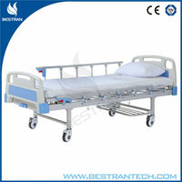 China BT-AM301 one function manual medical hosptial bed single crank bed hospital beds for sale south africa