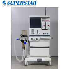 S6600 Best anesthesia machine price with trolley