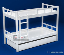 Hot sale double decker bed wooden bunk beds indian wood double bed designs