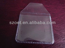 Clear Plastic soft/hard PVC/PET packaging bag with customed deisgn and printing