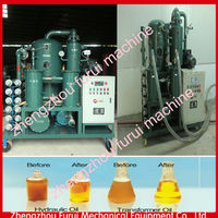 Good quality centrifugal oil filter machine