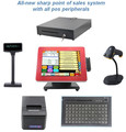 China Pos Handware Factory Epos System 15 Inch Touch Restaurant Pos Systems