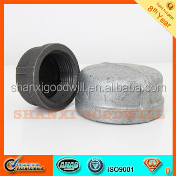 steel pipe cap threaded