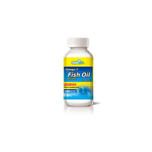 Supplement Omega 3 Fish Oil Softgel Capsule