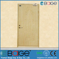 BG-F9032 steel fire door with panic push bar