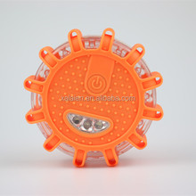 AAA battery operated led magnetic flare traffic warning light