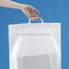 Reusable Custom Made Logo Printed Co Extruded Polythene Bag Plastic Shopping Bag
