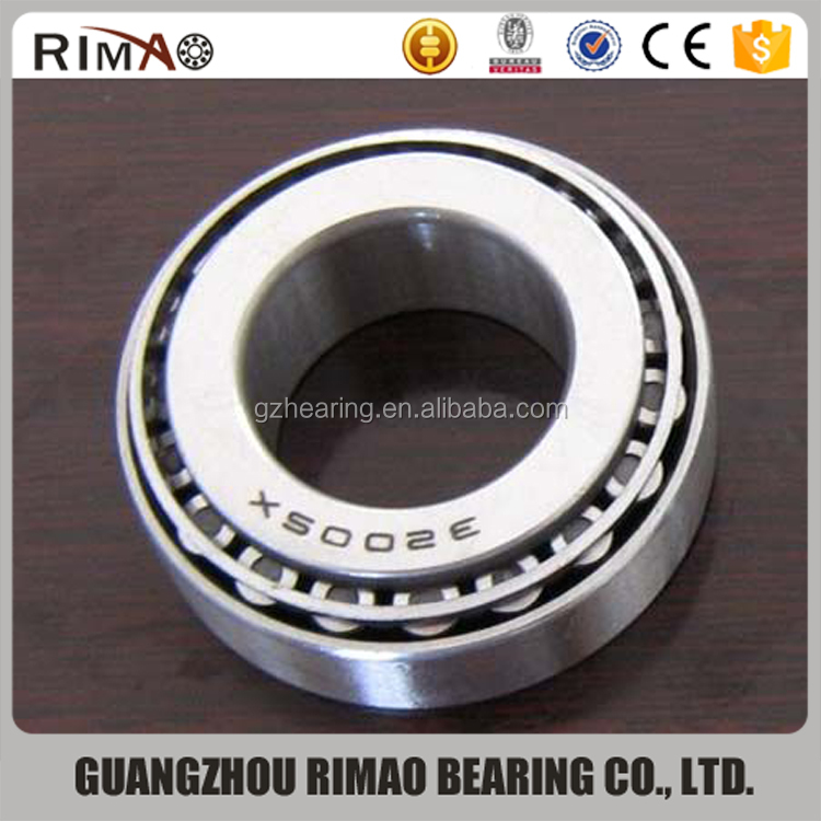Japan high quality 32005 taper roller bearing size 25*47*15mm