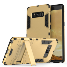 Anti shock kickstand tpu pc case for samsung note 8 armor,for galaxy note 8 cover