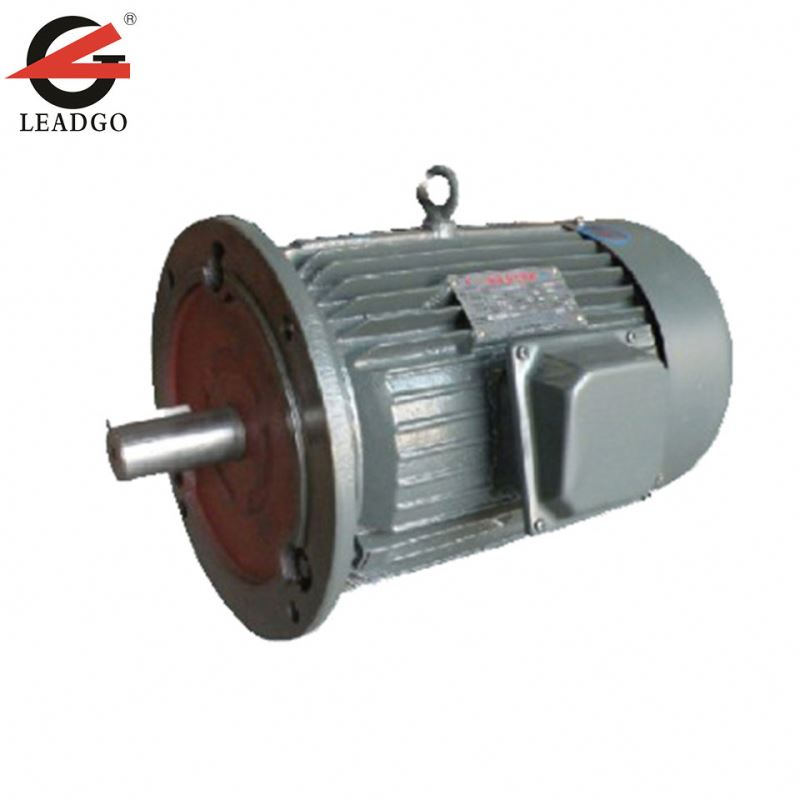 step speed ac induction motor 10kw/80kw