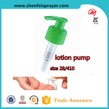 Comestic packaging widely usage pp material free samples size 28/410 plastic shampoo lotion pump for personal care