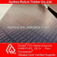 Dynea china shandong professional manufacturer best quality e0 e1 e2 furniture grade plywood film faced plywood factory