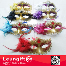 Masquera decorative face mask party mask with rhinestone