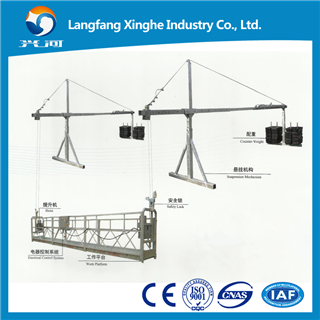 Zlp External Wall Painting Gondola / Construction Lifting Cradle