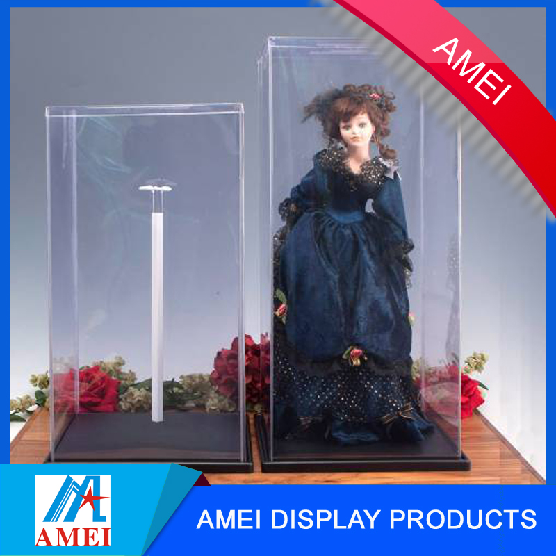 2017 wholesale transparent acrylic beanie baby display case