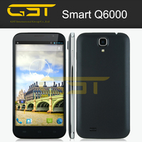 "Factory directly sale for Q6000 6.0"" Capacitive IPS Touch 1280x720 Android 4.2 Quad Core MTK6589 1.3GHz Smartphone"