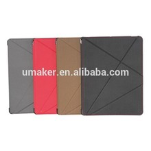 Umaker hot selling PU Leather Stand case for iPad4/5/air2 cover