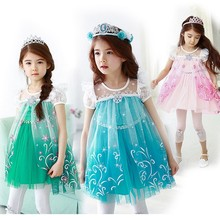 Wholesale girls boutique custom made halloween costume kids princess fashion high quality for kids BX1691
