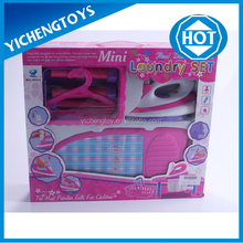 Electric household girls iron toys set with light music water Spraying