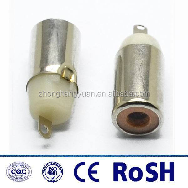2017 hot selling rca female /jack video/video connector for video/audio cable