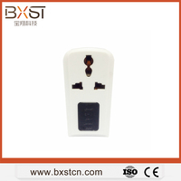 UK socket and plug over voltage protector with LED display