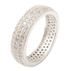 925 sterling silver jewelry micro pave setting eternity men handmade rings