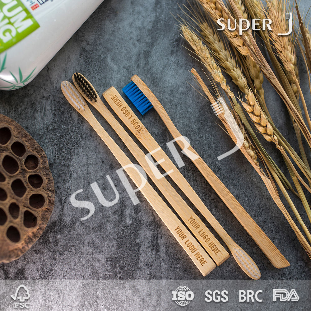 Medium,Hard,Soft Bristle Type and Biodegradable Feature bamboo toothbrush