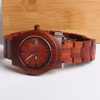 Hot selling custom made watches digital wooden watches fashion