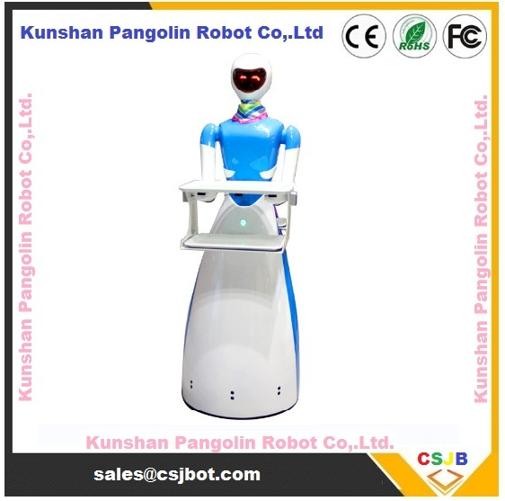 restaurant robots on a roll food dishes delivery beauty robot
