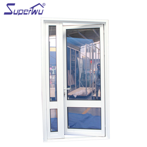 Hot sale tempered glass european style used commercial glass entry door