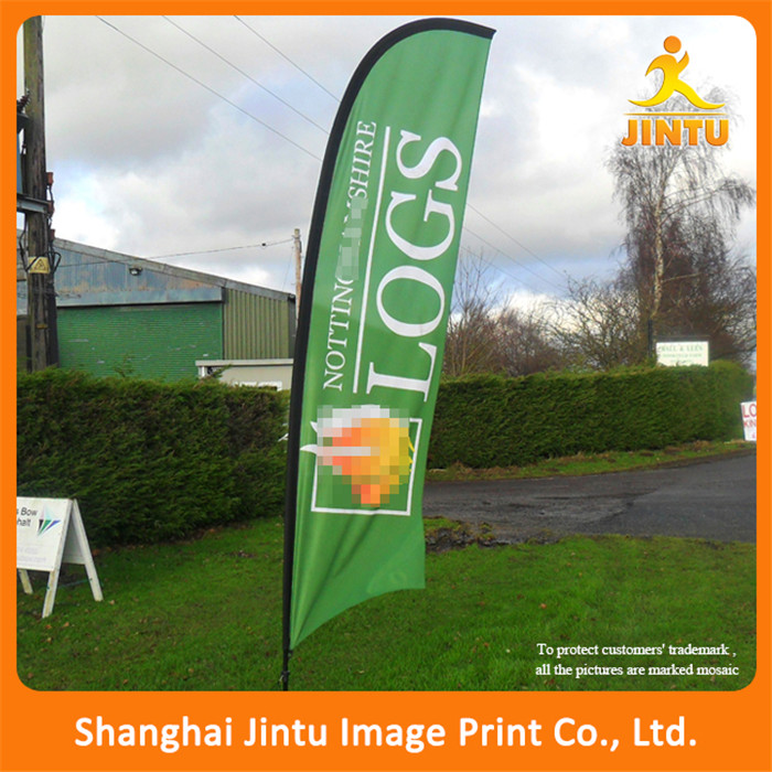 wholesale factory price promotional free standing banners and flags
